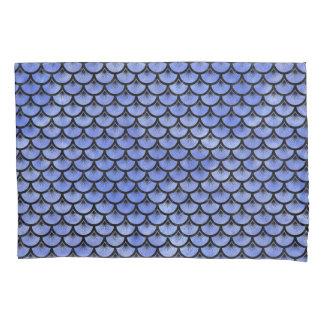 SCALES3黒い大理石及び青い水彩画(R) 枕カバー