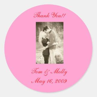 scan0010、ありがとう!! トム及びモーリー2009年5月16日 ラウンドシール