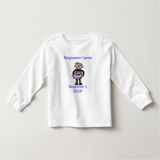 scan0014、Ringbearer CarterDecember 1 2007年 トドラーTシャツ