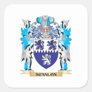 Scanlonの紋章付き外衣-家紋 スクエアシール