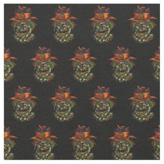 ScareCrowcrowの幽霊のよく出るな生地 ファブリック