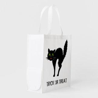 Scaredy猫のハロウィンのトリック・オア・トリートのバッグ エコバッグ