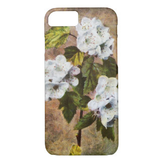 Scarlet Haw Tree Retro Painted iPhone 8/7ケース