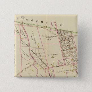 Scarsdale、ニューヨーク 5.1cm 正方形バッジ