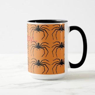 Scary Halloween Witches Black Spider Designed マグカップ