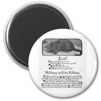 Scat! 猫の詩およびアートワーク マグネット