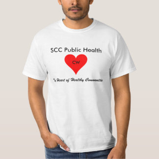 SCCの公衆衛生: CW Tシャツ
