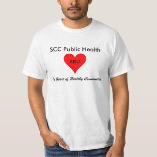 SCCの公衆衛生: SEIU 521 Tシャツ
