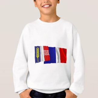 Schaanの振る旗 スウェットシャツ
