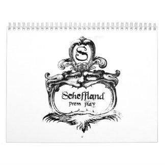 Scheffyのカレンダー2008年 カレンダー