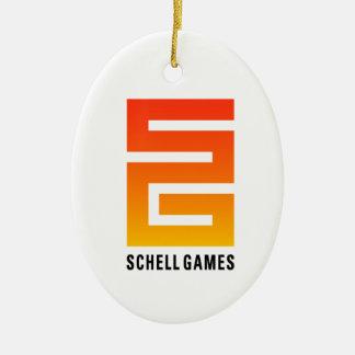 Schellのゲームのオーナメント セラミックオーナメント