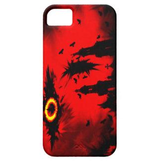 SCHILLEH|暗い|血|都市 iPhone 5 カバー