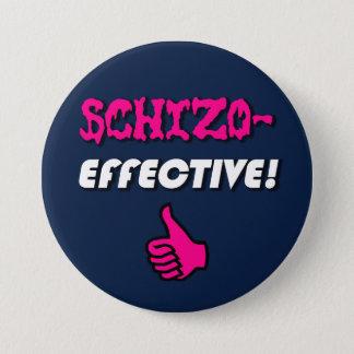 """Schizo有効なSchizoaffective """"!"""" プライドボタン 7.6cm 丸型バッジ"""