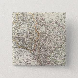 Schlesien 5.1cm 正方形バッジ