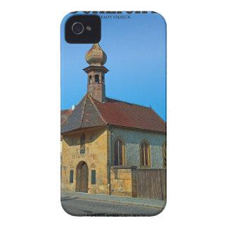 Schlicht -メイン・ストリートのチャペル Case-Mate iPhone 4 ケース