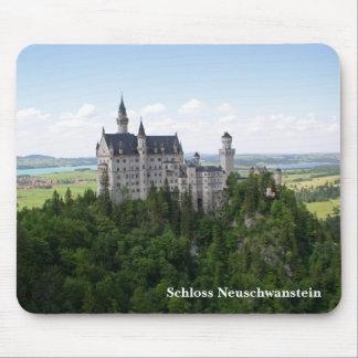 Schlossノイシュヴァンシュタイン城のマウスパッド マウスパッド