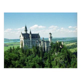 Schlossノイシュヴァンシュタイン城の郵便はがき ポストカード