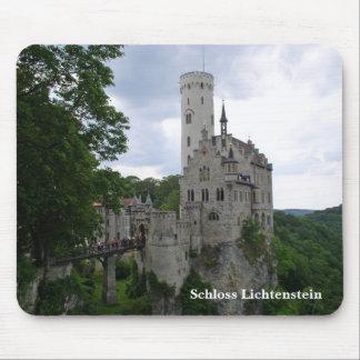 Schlossリキテンスタインのマウスパッド マウスパッド