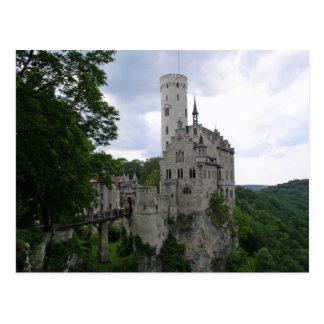 Schlossリキテンスタインの郵便はがき ポストカード