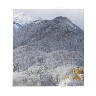Schloss Hohenschwangau ノートパッド