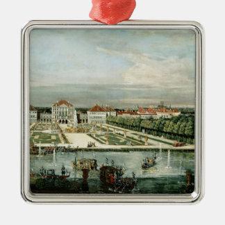 Schloss Nymphenburg 1761年 メタルオーナメント