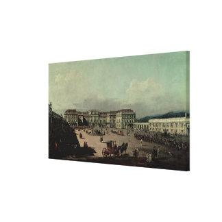 Schloss Schonbrunn 1759-60年 キャンバスプリント