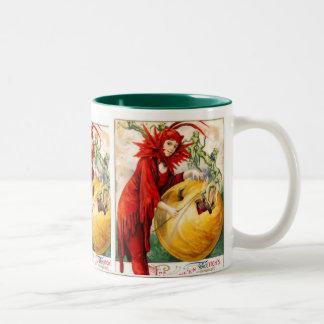 Schmucker: 魔法使いの細い棒 ツートーンマグカップ
