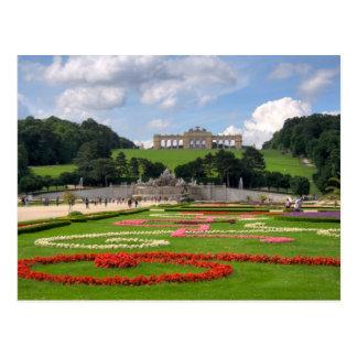 SchönbrunnウィーンオーストリアのGloriette ポストカード