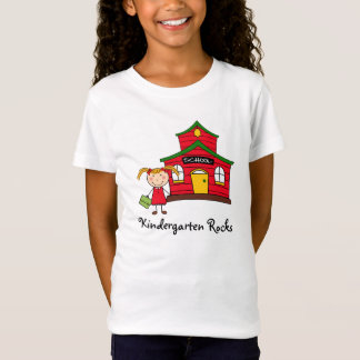 School House with Girl Shirt Tシャツ