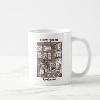 Schrifftglesser -活字鋳造業者 コーヒーマグカップ