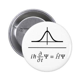Schrödingerの同等化 5.7cm 丸型バッジ