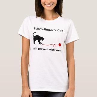 """""""Schrödinger猫""""のワイシャツ(ライト) Tシャツ"""