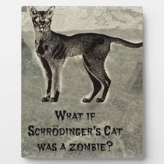 schrodingers猫のゾンビ フォトプラーク