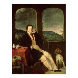 Schubertのポートレート ポストカード