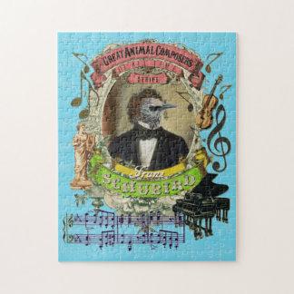 Schubird素晴らしい動物作曲家のSchubertのパロディ ジグソーパズル