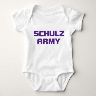 Schulzの軍隊の乳児のクリーパー ベビーボディスーツ