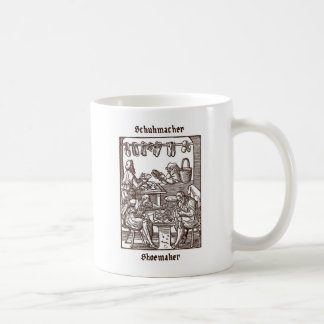 Schumacher -靴屋 コーヒーマグカップ