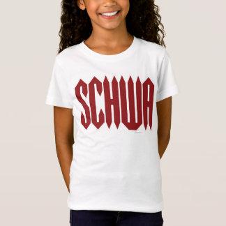 Schwa Tシャツ