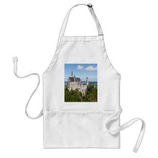 Schwangauのババリアのドイツ語の城ノイシュヴァンシュタイン城 スタンダードエプロン