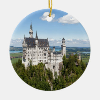 Schwangauのババリアのドイツ語の城ノイシュヴァンシュタイン城 セラミックオーナメント