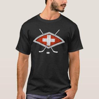Schweiz Eishockeyのスイスのアイスホッケー Tシャツ