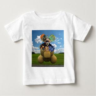 Sciの罰金 ベビーTシャツ