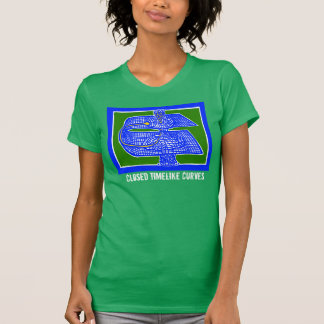 ScienceFrontiers著CTCsの理論物理学のティー Tシャツ