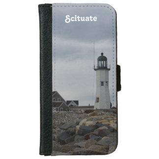 Scituateの古い灯台 iPhone 6/6s ウォレットケース