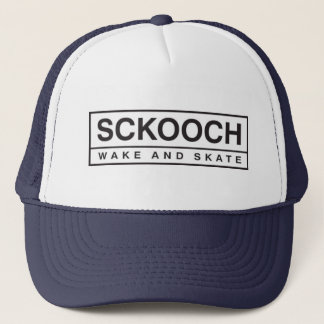 Sckoochの網の急な回復白か海軍 キャップ