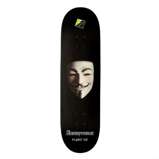 "Scollettaの""匿名の""デッキ107 スケートボード"