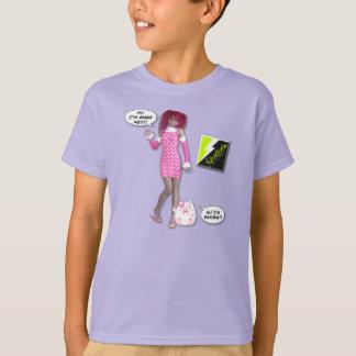 """Scollettaは""""桜""""をTからかいました Tシャツ"""