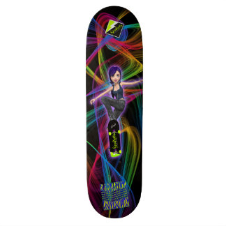 "Scolletta ""Radnation""のデッキ 21.6cm スケートボードデッキ"