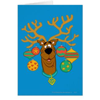 Scoobyトナカイ カード