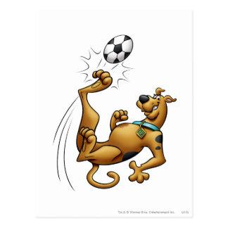 Scooby Dooのゴールのスポーツのエアブラシの姿勢1 はがき